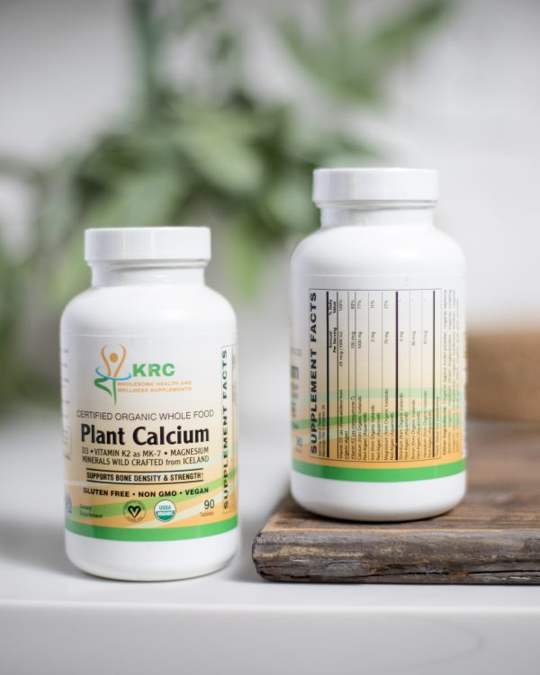 Certified Organic Whole Food Plant Calcium