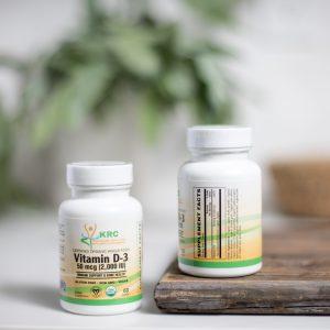 Certified Organic Whole Food Vitamin D-3