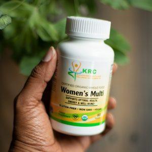 Certified Organic Whole Food Women's Multi