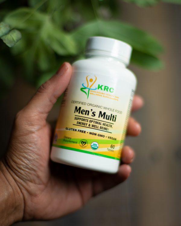 Certified Organic Whole Food Men's Multi